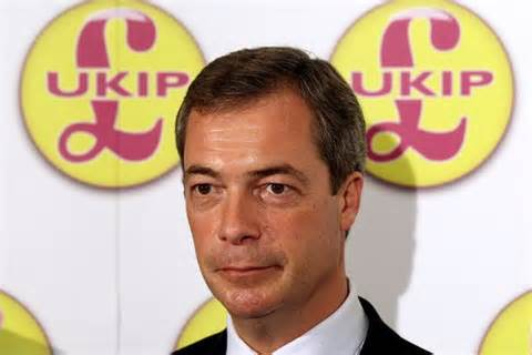 Nigel Farage, leader of Ukip.