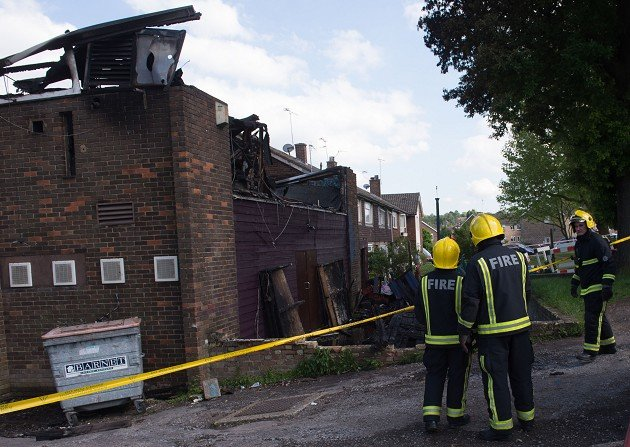 Somali Bravanese Welfare Association was burned down on Wednesday in a suspected racist attack.